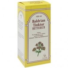 BALDRIANTINKTUR Hetterich 100 ml