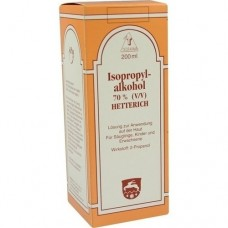ISOPROPYLALKOHOL 70% V/V Hetterich 200 ml
