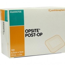 OPSITE Post-OP 5x6,5 cm Verband einzeln steril 100X1 St