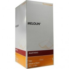 MELOLIN 10x10 cm Wundauflagen steril 100 St