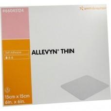 ALLEVYN Thin 15x15 cm dünne Wundauflage 3 St