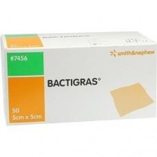 BACTIGRAS antiseptische Paraffingaze 5x5 cm 50 St