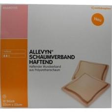 ALLEVYN Schaumverband 22x23 cm haftend 12 St