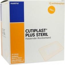 CUTIPLAST Plus steril 7,8x10 cm Verband 55 St