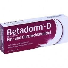 BETADORM D Tabletten 20 St