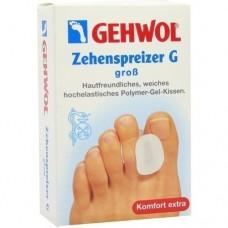 GEHWOL Polymer Gel Zehen Spreizer G groß 3 St