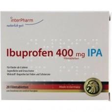 IBUPROFEN 400 mg IPA Filmtabletten 20 St
