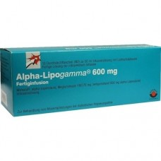 ALPHA LIPOGAMMA 600 mg Fertiginfus.Durchst.F. 10X50 ml