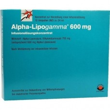 ALPHA LIPOGAMMA 600 Inf.Lsg.Konzentrat Inf.-Lsg. 10X24 ml