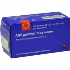 ASS gamma 75 mg Tabletten 100 St