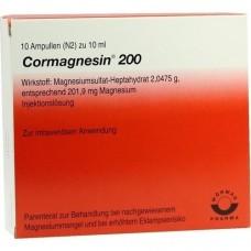 CORMAGNESIN 200 Ampullen 10X10 ml