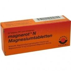 MAGNEROT N Magnesiumtabletten 50 St