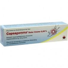CAPSAGAMMA Dolor Creme 0,05% 40 g
