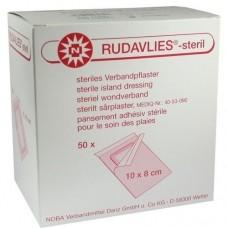 RUDAVLIES-steril Verbandpflaster 8x10 cm 50 St