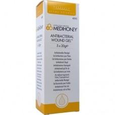 MEDIHONEY Antibakterielles Wundgel 5X20 g