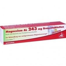 MAGNESIUM AL 243 mg Brausetabletten 20 St