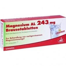 MAGNESIUM AL 243 mg Brausetabletten 40 St