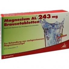 MAGNESIUM AL 243 mg Brausetabletten 60 St