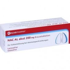 NAC AL akut 200 mg Brausetabletten 20 St