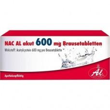 NAC AL akut 600 mg Brausetabletten 20 St