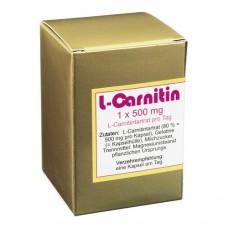 L-CARNITIN 1x500 mg Kapseln 45 St