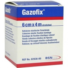 GAZOFIX Fixierbinde 6 cmx4 m hautf. 1 St
