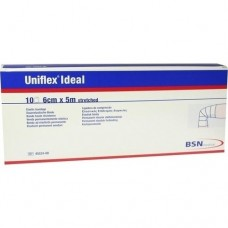 UNIFLEX ideal Binden 6 cmx5 m weiß lose 10 St