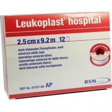 LEUKOPLAST Hospital 2,5 cmx9,2 m 12 St
