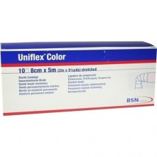 UNIFLEX Universal Binden 8 cmx5 m blau 10 St