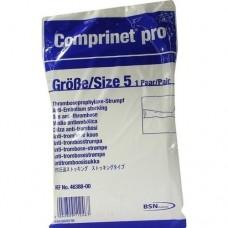COMPRINET pro Strumpf oberschenk.lang Gr.5 weiß 2 St