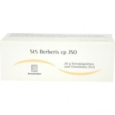 JSO JKH STOFFW.-MITTEL St 5 Berberis cp Globuli 20 g