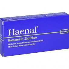 HAENAL Hamamelis Zäpfchen 10 St