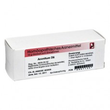 ACONITUM D 6 Globuli 10 g