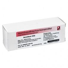 ACONITUM D 30 Globuli 10 g