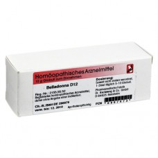 BELLADONNA D 12 Globuli 10 g