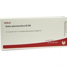 GALEA APONEUROTICA GL D 6 Ampullen 10X1 ml