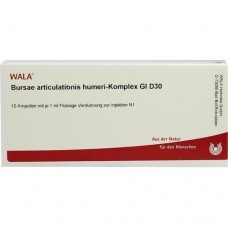 BURSAE ARTICULAT.HUM.KOMPL.GL D 30 Ampullen 10X1 ml