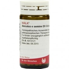 AESCULUS E semine D 3 Globuli 20 g