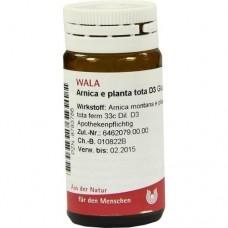 ARNICA E Planta tota D 3 Globuli 20 g