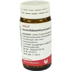 AURUM/STIBIUM/Hyoscyamus Globuli 20 g