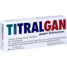 TITRALGAN Tabletten gegen Schmerzen 10 St