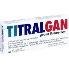 TITRALGAN Tabletten gegen Schmerzen 20 St