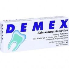 DEMEX Zahnschmerztabletten 10 St