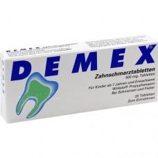 DEMEX Zahnschmerztabletten 20 St