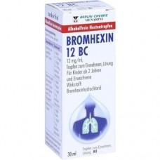 BROMHEXIN 12 BC Tropfen zum Einnehmen 30 ml