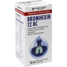 BROMHEXIN 12 BC Tropfen zum Einnehmen 50 ml