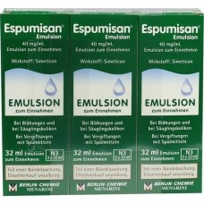 ESPUMISAN Emulsion 3X32 ml