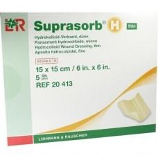 SUPRASORB H Hydrokoll.Verb.dünn 15x15 cm 5 St