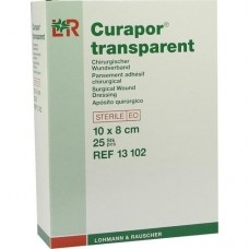 CURAPOR Wundverband steril transparent 8x10 cm 25 St
