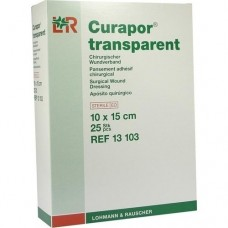 CURAPOR Wundverband steril transparent 10x15 cm 25 St